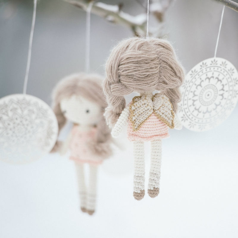 Little angel doll amigurumi pattern - Amigurumipatterns.net