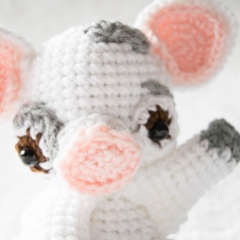 Pua Piglet amigurumi by Sweet N' Cute Creations