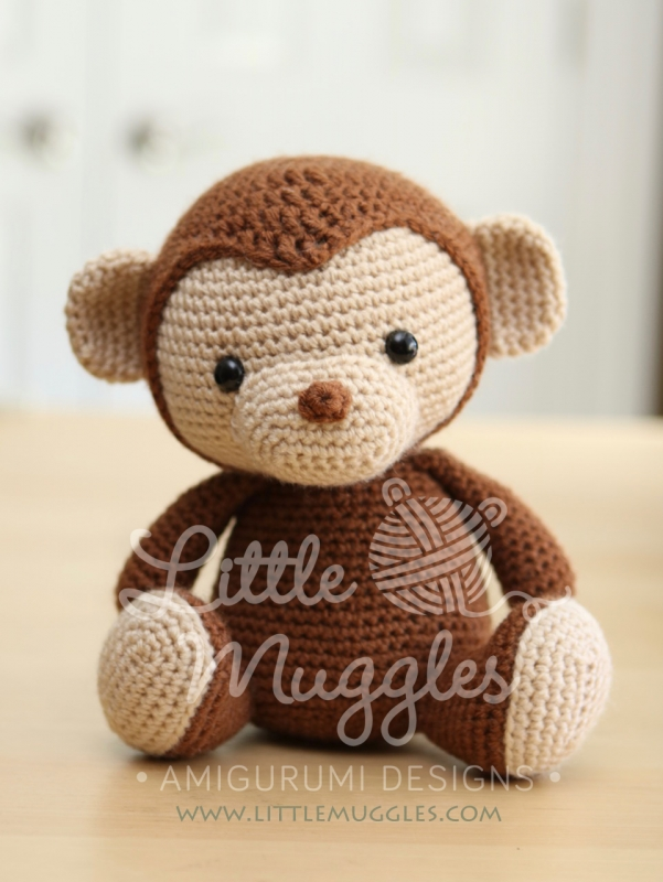 Miles the monkey amigurumi pattern - Amigurumipatterns.net