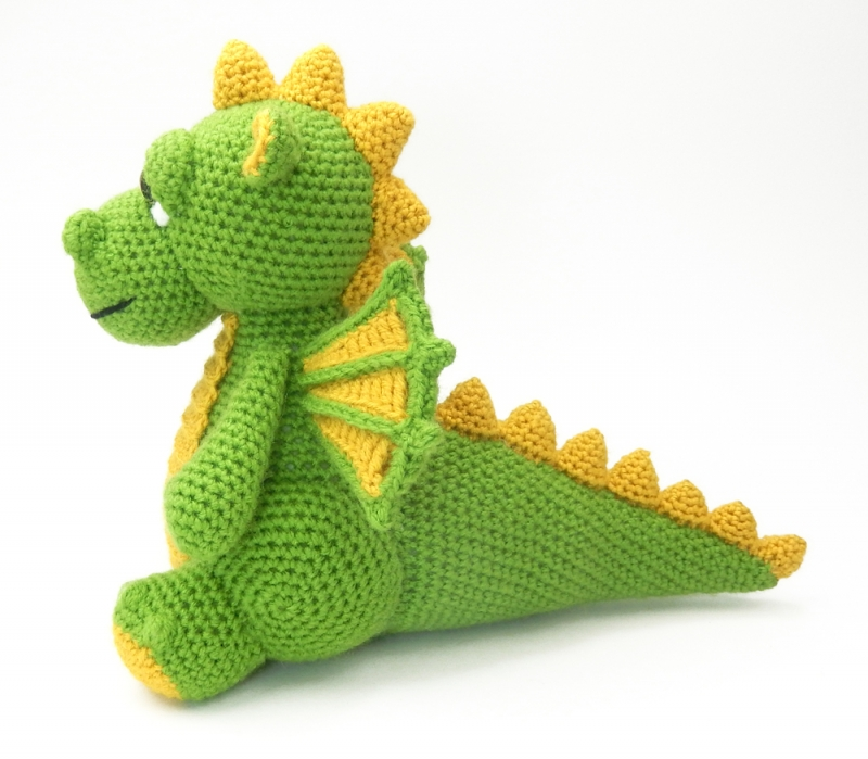 Shaky Monkey — diyfluffies totally adorable dragon is our... | 699x800