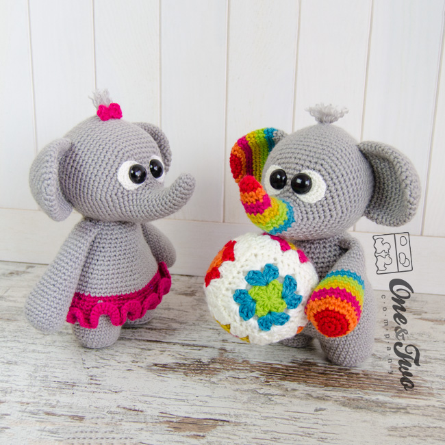 Dash and Dot the Little Elephants