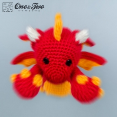 Felix the Baby Dragon amigurumi by One and Two Company