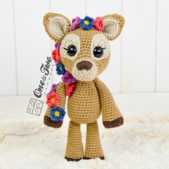 Meadow the Sweet Fawn  amigurumi by One and Two Company