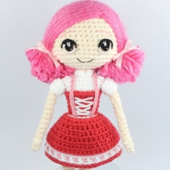 Little Red Riding Hood and Wolf Cub amigurumi by Epic Kawaii