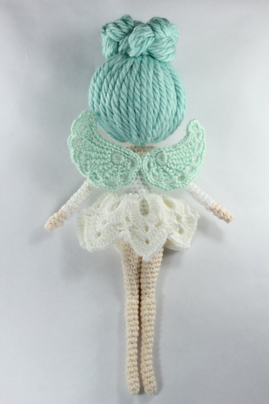 Amigurumi Fairy Free Pattern : Luciella The Winter Fairy amigurumi pattern ...
