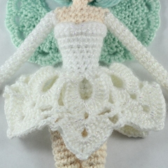 Luciella The Winter Fairy amigurumi pattern by Epic Kawaii