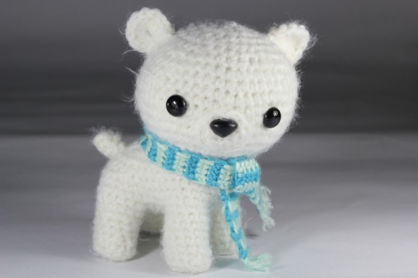 Amigurumi Patterns Free Bear : Peppermint the polar bear cub amigurumi pattern amigurumipatterns.net