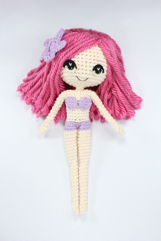 Amigurumi Mermaid Tail : The Little Mermaid with Removable Tail and Fish Friend ...