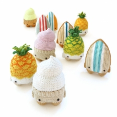 4 seasons SUMMER amigurumi pattern by Lalylala