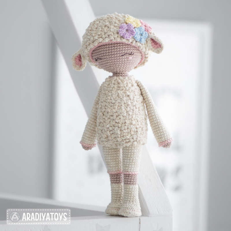 Friendy Wendy the Lamb from