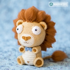 Lion Cubs Bobby and Lily amigurumi pattern by AradiyaToys