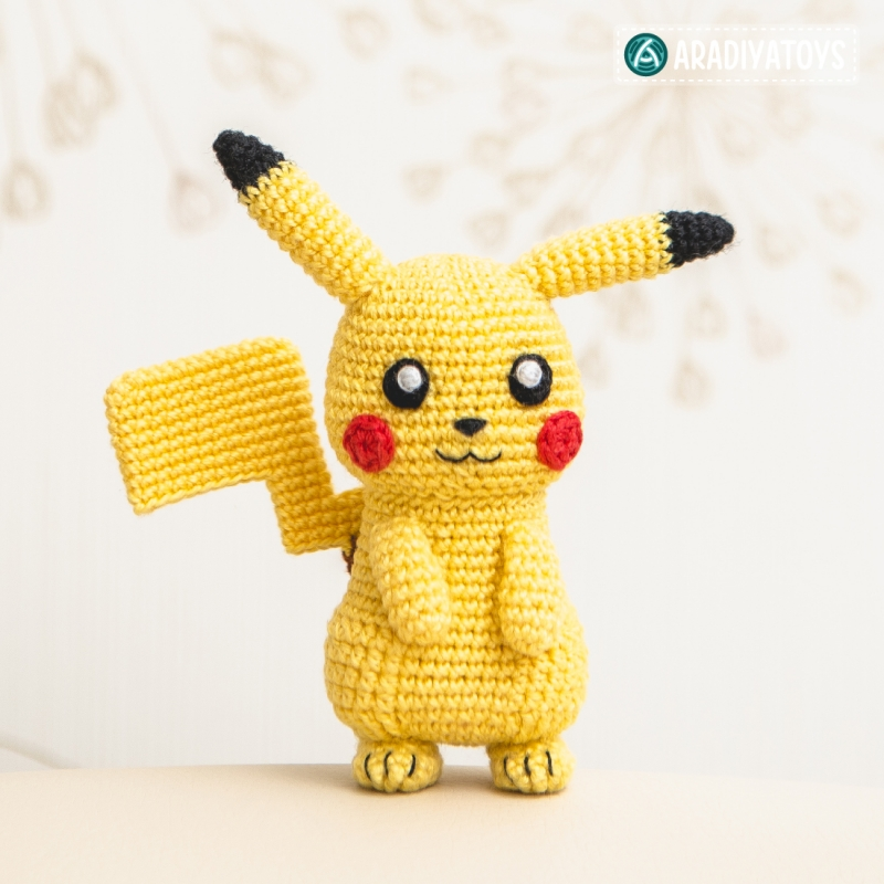 Amigurumi Tutorial Pokemon : Pikachu (
