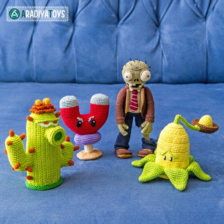 Amigurumi Wall-Nut | Plants vs Zombies | Watch out Zombies! … | Flickr | 770x770