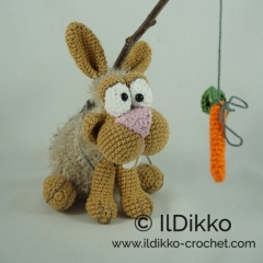 Bunny and Clyde amigurumi by IlDikko