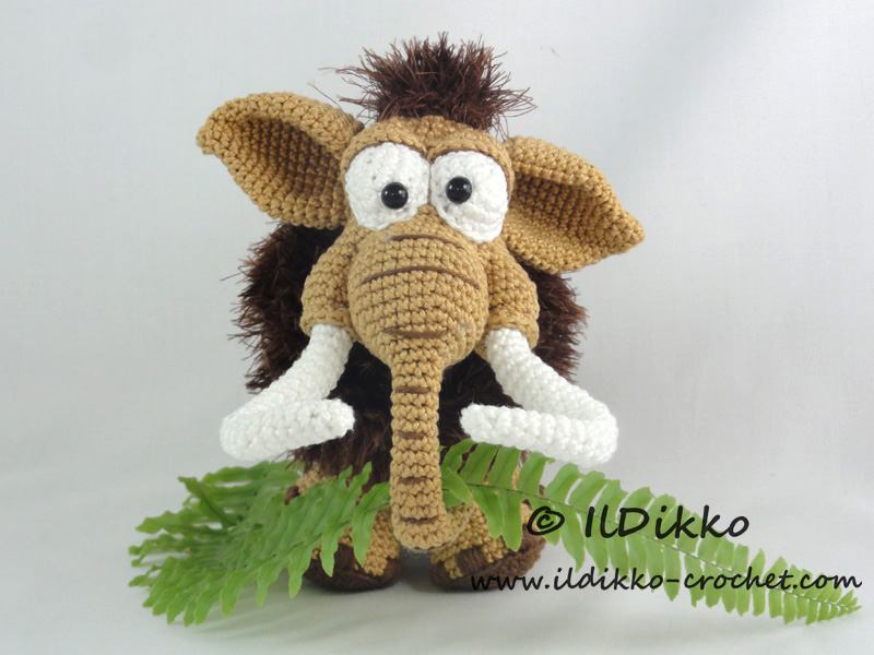 Amigurumi Invisible Join : Maurice the mammoth amigurumi pattern - Amigurumipatterns.net
