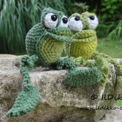 Snoggy the Froggy amigurumi by IlDikko