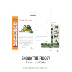 Snoggy the Froggy amigurumi pattern by IlDikko