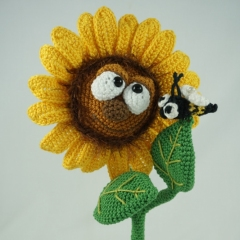 Sonny the Sunflower amigurumi pattern by IlDikko