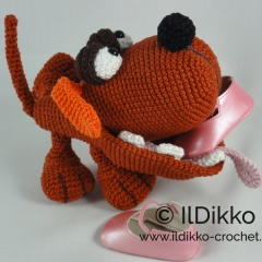 The Dogster amigurumi by IlDikko