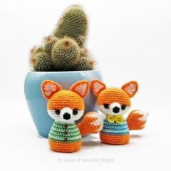 Buddy & Chum amigurumi pattern by Tales of Twisted Fibers