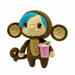 Forest Friends amigurumi pattern by Tales of Twisted Fibers