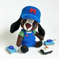 Mechanic Mike amigurumi by Tales of Twisted Fibers