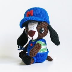 Mechanic Mike amigurumi pattern by Tales of Twisted Fibers