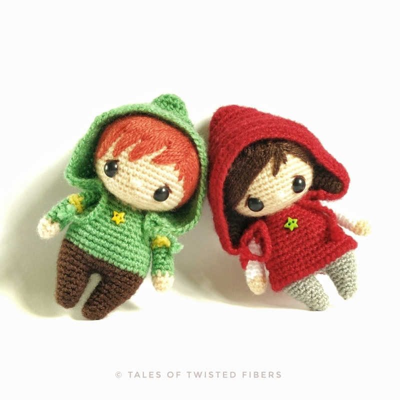Amigurumi Pattern Maker : The Hoodies amigurumi pattern - Amigurumipatterns.net