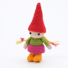 The Gnome Family amigurumi pattern by Christel Krukkert