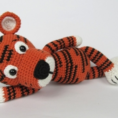 Little Tiger Tomy  amigurumi pattern by DioneDesign