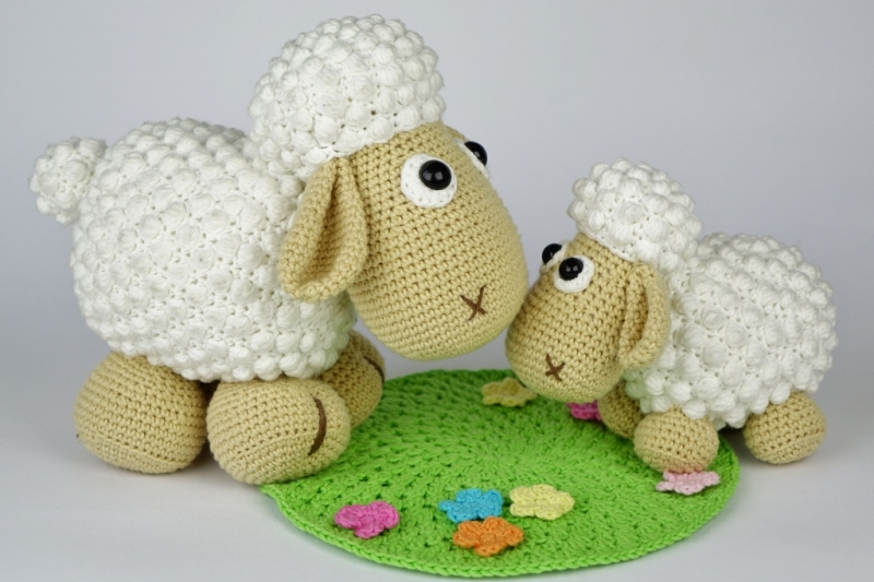 Sheep Wolli And Lamb Lucky Amigurumi Pattern Amigurumipatterns