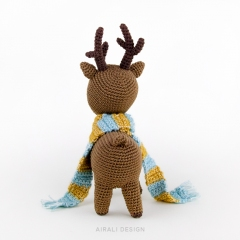 Noel the Reindeer amigurumi by airali design