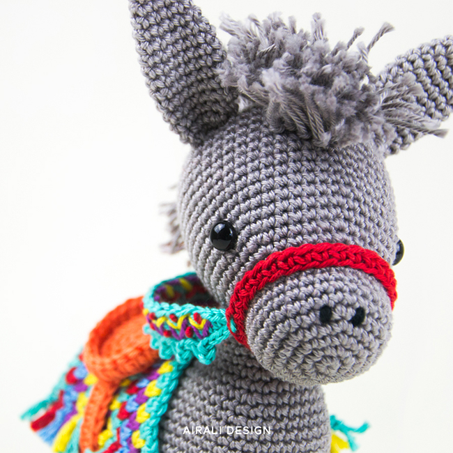 Crochet Pattern Dylan the Donkey Amigurumi Animals Crochet | Etsy | 650x650