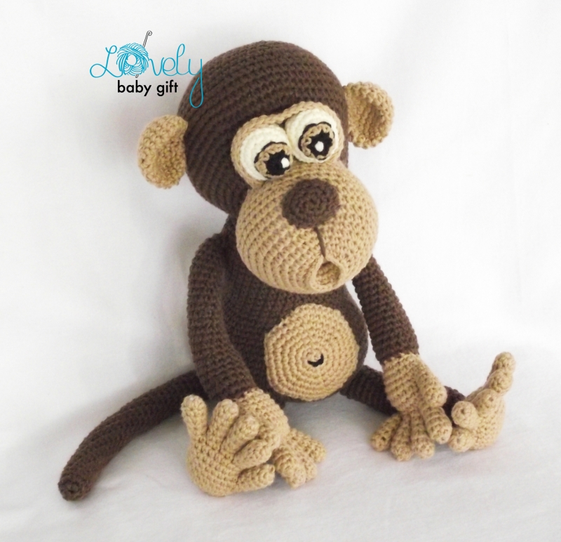 Bruno The Monkey Amigurumi Pattern