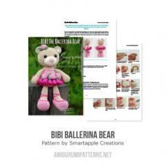 Crochet Ballerina Bear Free Pattern : Bibi the Ballerina Bear amigurumi pattern ...