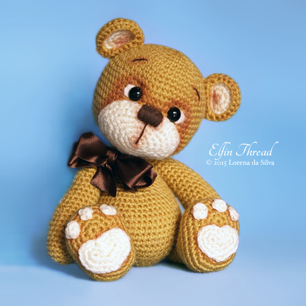 Amigurumi Crochet Teddy Bear Patterns : Bruno the Teddy Bear amigurumi pattern - Amigurumipatterns.net