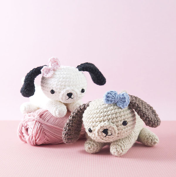 Amigurumi Crochet Dog : Cheeky Little Puppy Dog amigurumi pattern ...