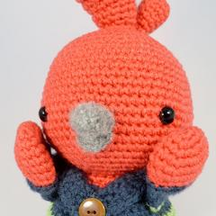 Chipster the Little Bird amigurumi pattern by YOUnique crafts