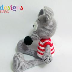 Cute Mouse amigurumi by Havva Designs