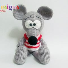 Cute Mouse amigurumi pattern by Havva Designs