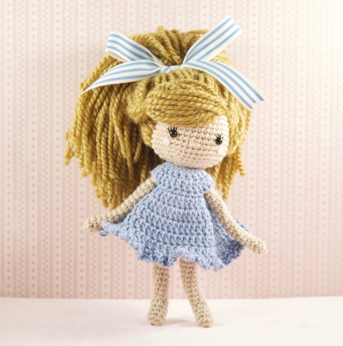 Amigurumi Mini Doll : Amigurumi mini doll free pattern kalulu for