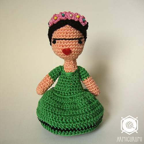 Amigurumi Monster Free Pattern : Frida Doll amigurumi pattern - Amigurumipatterns.net