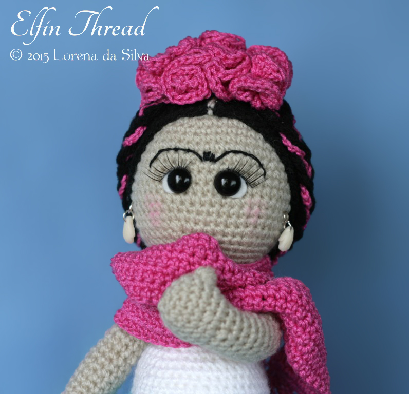 Amigurumi Monster Free Pattern : Frida Kahlo Doll amigurumi pattern - Amigurumipatterns.net