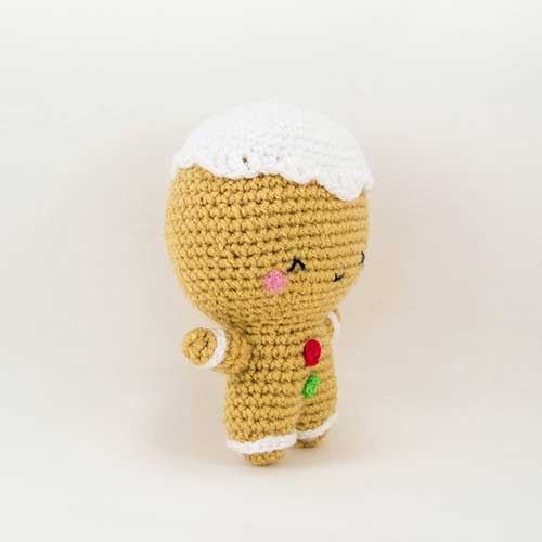 Ginger the gingerbread man amigurumi pattern ...
