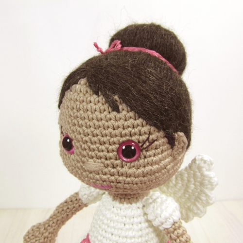 Angel Amigurumi Tutorial : Guardian Angel Girl amigurumi pattern - Amigurumipatterns.net