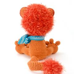 Leopold the lion amigurumi by Woolytoons