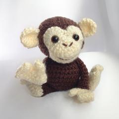 Maurice the Monkey amigurumi by Hooked On Patterns