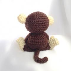 Maurice the Monkey amigurumi pattern by Hooked On Patterns