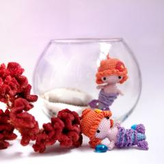 Mini Mermaid amigurumi by Ds_mouse