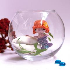 Mini Mermaid amigurumi pattern by Ds_mouse